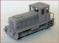 Knightwing Model Railway Plastic Kits - 0-4-0 Inderstrial Shunter RK20B - LOCO1