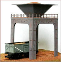 Knightwing Model Railway Plastic Kits - Gravel Loader - PM102