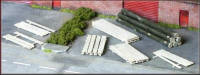 Knightwing Model Railway Plastic Kits - Timber and Log Loads - PM105