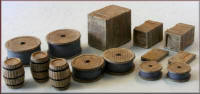 Knightwing Model Railway Plastic Kits - Crates, Barrels, Sacks and Drums - PM108