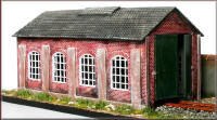 Knightwing Model Railway Plastic Kits - Engine Shed - PM112