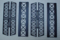 Knightwing Model Railway Plastic Kits - Girder Bridge (Double Pack) - PM123