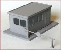 Knightwing Model Railway Plastic Kits - Gatehouse Control Office - PM125