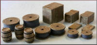 Knightwing Model Railway Plastic Kits - Crates Barrels Sacks Double Pack - PM139