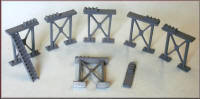 Knightwing Model Railway Plastic Kits - Girder Support Metal - UN8