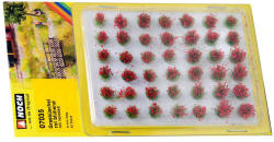 Noch - Grass Tufts XL - Red 6mm - N07035