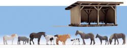 Noch - Deco Scenes - Cattle Shelter - N12042