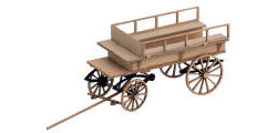 N14244 - Noch - Laser Cut Mini - Wooden Coach Carriage