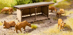 N14379 - Noch - Laser Cut Minis - Cattle Shelter