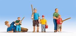 N15893 - Noch Figures - Fathers and Sons Fishing (6)