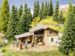"Noch - Scenery Set ""Christmas Crib"" -  N65620"