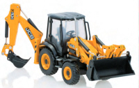 Oxford Diecast - JCB 3CX ECO Backhoe Loader - 763CX001