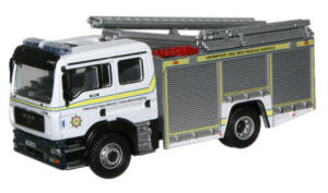 New Modellers Shop - Oxford Diecast - Grampian Pump Ladder - and Rescue - 76MFE002