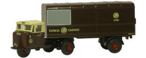 New Modellers Shop - GWR Mechanical Horse Van Trailer - 76RAB011