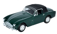 Oxford Diecast Aston Martin DB2 MkIII DHC Dark British Racing Green - 76AMDB2002