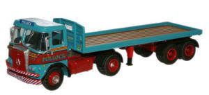 New Modellers Shop - Oxford Diecast - Pollock Atkinson Borderer Flatbed Trailer - 76ATK001