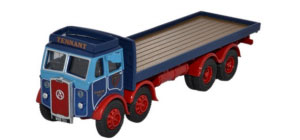 76ATKL003 - Oxford Diecast Atkinson 8 Wheel Flatbed Lorry - Tennant Transport