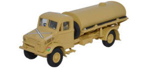 Oxford Diecast HQ Corps RASC Bedford OY 3 Ton Water Tanker - 76BD007
