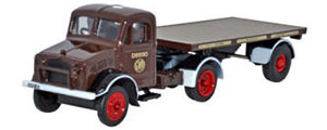 Oxford Diecast - GWR Bedford OX Flatbed Trailer - 76BD008