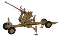 Oxford Diecast Desert Light Stone 40MM Bofors Gun - 76BF003