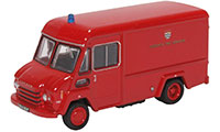 76CWT003 - Oxford Diecast Commer Walk Thru London Fire Brigade