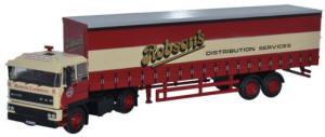 Oxford Diecast DAF2800 40ft Curtainside - 76D28001