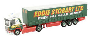 Oxford Diecast DAF 85 Curtainside - Eddie Stobart - 76DAF03