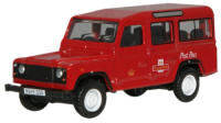 New Modellers Shop - Oxford Diecast - Royal Mail Land Rover Defender - 76DEF002