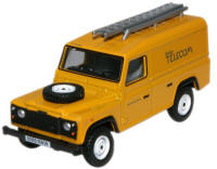 New Modellers Shop - Oxford Diecast - Oxford Diecast British Telecom Land Rover Defender - 76DEF005