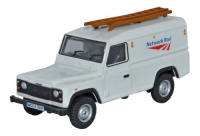 Oxford Diecast Land Rover Defender - Network Rail - 76DEF008