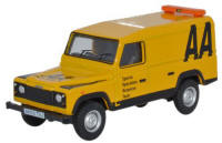 Oxford Diecast Land Rover Defender - AA - 76DEF009