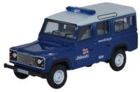 Oxford Diecast - Land Rover Defender Station Wagon - RNLI - 76DEF014