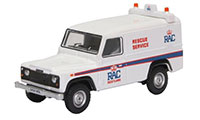 Oxford Diecast - Land Rover Defender LWB Hard Back - RAC - 76DEF015