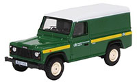 76DEF017 - Oxford Diecast - Land Rover Defender - Forestry Commission