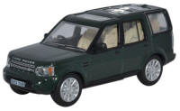 Oxford Diecast Land Rover Discovery 4 - Aintree Green - 76DIS003