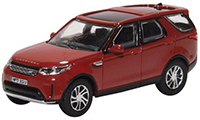 76DIS5003 - Oxford Diecast Land Rover Discovery 5 - Firenze Red