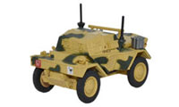 Oxford Diecast Dingo Scout Car 50th RTR 23rd Armoured Brigade Tunisia - 76DSC001