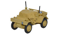 Oxford Diecast Dingo Scout Car - HQ 2nd Division El Alamein 1942 - 76DSC003