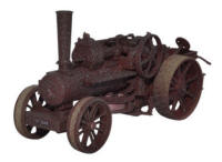 Oxford Diecast - Fowler BB1 16nhp Ploughing Engine No.15145 Rusty Dorse - 76FBB001