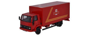 Oxford Diecast Ford Cargo Box Van - Royal Mail - 76FCG004