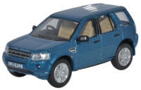 Oxford Diecast Land Rover Freelander Mauritius Blue - 76FRE003