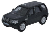 Oxford Diecast Land Rover Freelander Santorini Black - 76FRE004