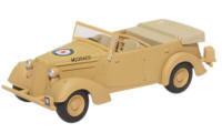 76HST003 - Oxford Diecast Humber Snipe Tourer Old Faithful - Tripoli 1943