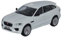 Oxford Diecast Jaguar F-PACE - Polaris White - 76JFP002