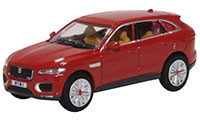 76JFP003 - Oxford Diecast Jaguar F-PACE - Italian Racing Red