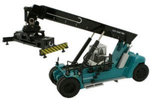 Oxford Diecast - Konecranes Reach Stacker Blue - 76KRS001