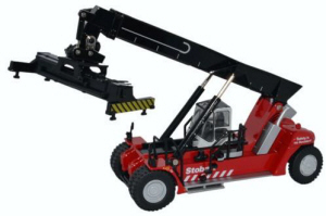 Oxford Diecast - Konecranes Reach Stacke Stobart Stacker (Red) - 76KRS005