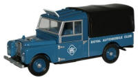 76LAN1109004 - Oxford Diecast Land Rover Series 1 - RAC (109 inch) Canvas