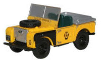 "76LAN180003 - Oxford Diecast Land Rover Series 1, 80"" - Open Top AA"