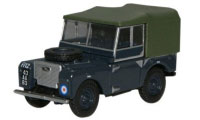 "Oxford Diecast Land Rover Series 1, 80"" Canvas RAF - 76LAN180004"
